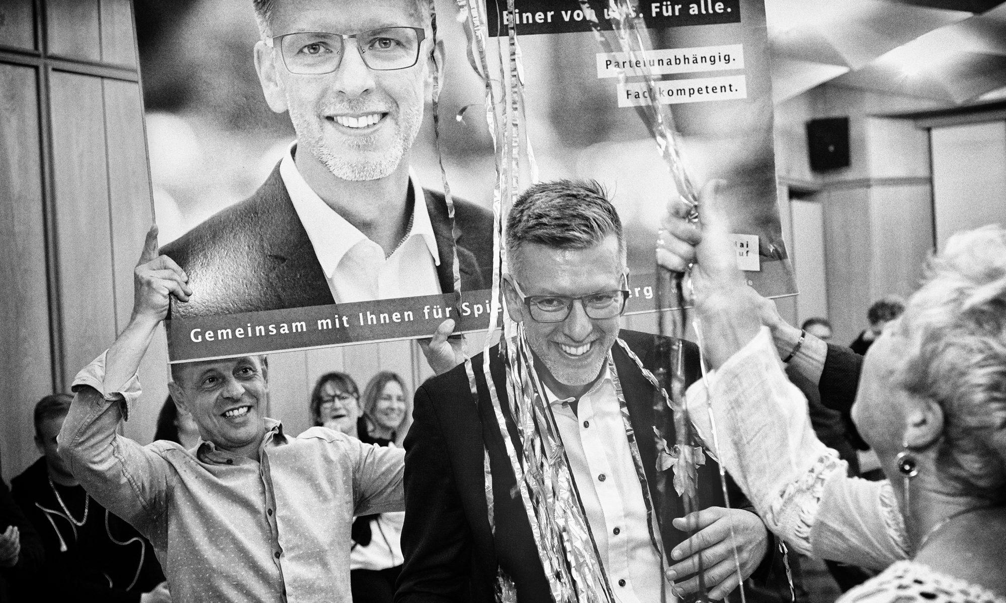 Bernd Huf. Dankbar.